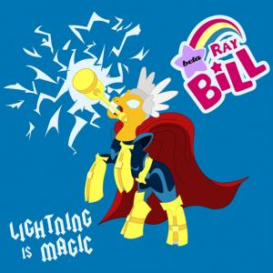 Beta Ray Bill: Lightning is MagicThor x My Little Pony